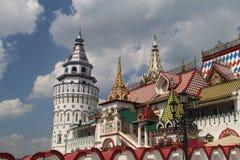 Vista del Izmailovo el Kremlin en Moscú, Rusia fotografía de archivo