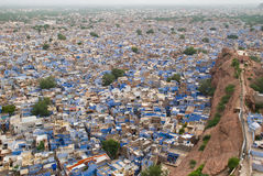 Vista del jodpur Imagen de archivo