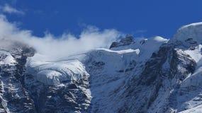 Vista del Jungfraujoch Fotografia Stock Libera da Diritti