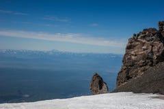 Vista del Kamchatka Fotografie Stock