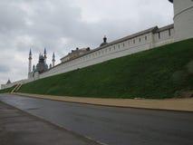 Vista del Kazán el Kremlin Kazán, Rusia foto de archivo