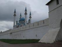 Vista del Kazán el Kremlin Kazán, Rusia imagen de archivo