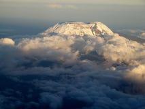 Vista del kilimanjaro Immagini Stock Libere da Diritti