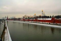 Vista del Kremlin Fotografie Stock Libere da Diritti