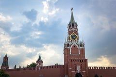Vista del Kremlin en Mosc? imagen de archivo libre de regalías