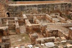 Vista del labirinto Alhambra Fotografia Stock Libera da Diritti
