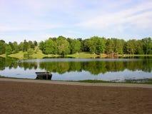 Vista del lago Immagine Stock Libera da Diritti