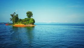 Vista del lago del Bangladesh 2 fotografia stock