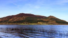 Vista del lago Bassenthwaite Immagini Stock