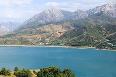 Vista del lago Chervak mountain Immagine Stock Libera da Diritti