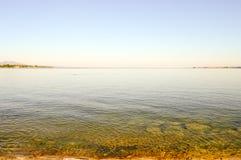 Vista del lago Coblenza sul tedesco Fotografia Stock