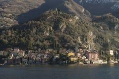 Vista del lago Como, Italia Fotos de archivo