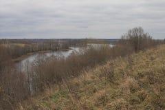 Vista del lago en otoño Imagen de archivo
