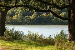 Vista del lago indiano immagine stock libera da diritti