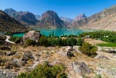 Vista del lago Mountainl Fotografia Stock Libera da Diritti