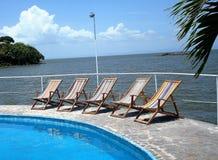 Vista del lago Nicaragua Fotografía de archivo libre de regalías