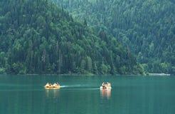 Vista del lago Rits Imagen de archivo libre de regalías