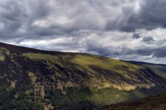 Vista del lago superiore. L'Irlanda Immagine Stock