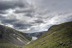 Vista del lago superiore. L'Irlanda fotografia stock libera da diritti