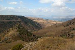 Vista del lago Tiberius Imágenes de archivo libres de regalías