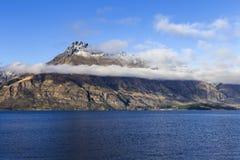 Vista del lago Wakatipu Imagen de archivo libre de regalías