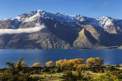 Vista del lago Wakatipu Imagen de archivo