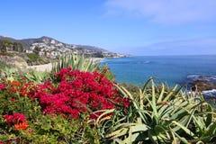 Vista del Laguna Beach Imagen de archivo libre de regalías