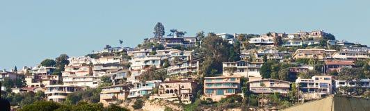 Vista del Laguna Beach Fotos de archivo
