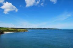Vista del litorale Fotografie Stock Libere da Diritti
