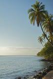 Vista del litorale da Lahaina Fotografia Stock Libera da Diritti