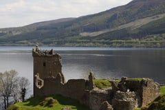 Vista del Loch Ness Fotografia Stock Libera da Diritti