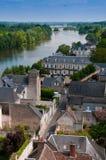 Vista del Loire Valley Immagine Stock Libera da Diritti