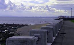 Vista del lungonmare di Arbroath Fotografia Stock Libera da Diritti