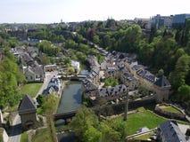 Vista del Lussemburgo fotografie stock libere da diritti