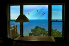 Vista del mar Fotos de archivo libres de regalías