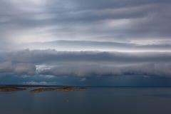 Vista del mar adriático en Croacia Fotografía de archivo