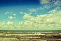 Vista del mar Báltico Imagen de archivo