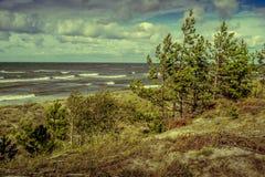 Vista del mar Báltico Fotografía de archivo libre de regalías