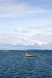 Vista del Mar Baltico Fotografie Stock Libere da Diritti