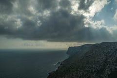 Vista del mar imagenes de archivo
