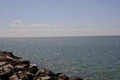 Vista del mar de Trieste Fotos de archivo