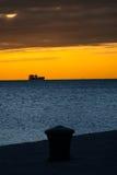 Vista del mar de Trieste Imágenes de archivo libres de regalías