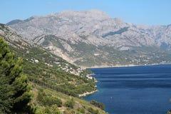 Vista del mar en Croacia Fotografía de archivo libre de regalías
