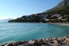 Vista del mar en Croacia Imagenes de archivo