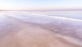 Vista del mar en invierno Imagenes de archivo