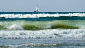 Vista del mar en verano imagenes de archivo