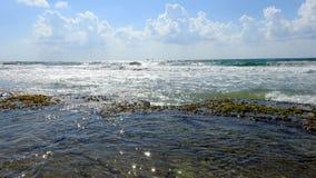 Vista del mar en verano imagen de archivo libre de regalías