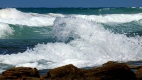 Vista del mar en verano imágenes de archivo libres de regalías