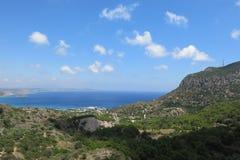 Vista del mar, isla de Kos Imagen de archivo libre de regalías