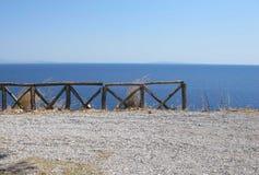 Vista del mar imagen de archivo libre de regalías